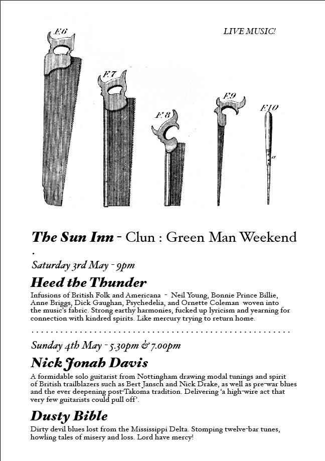 Green Man Weekend in Clun